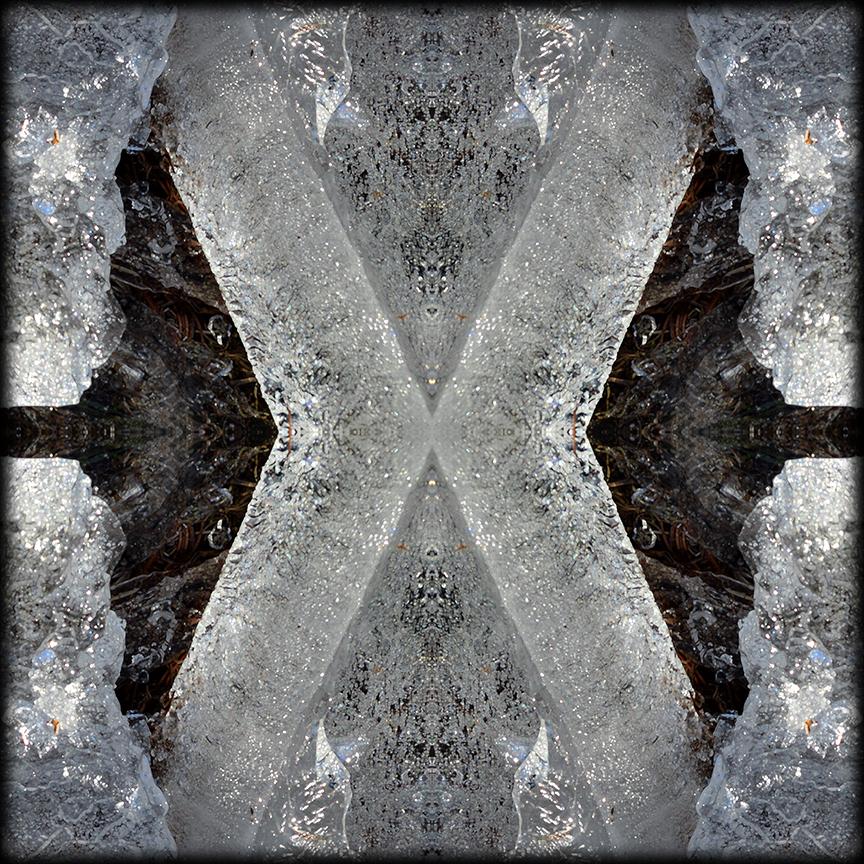 ICE X reflections 01 by Debra Cortese