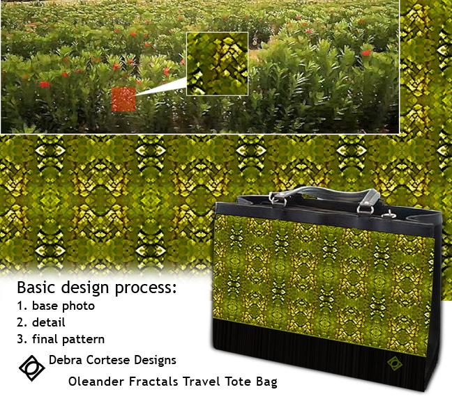 Creative Process Oleander Fractals pattern