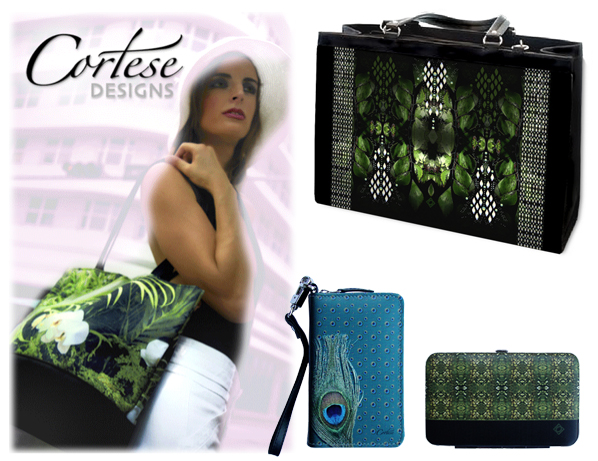 Cortese Design Bags available in 8 different styles