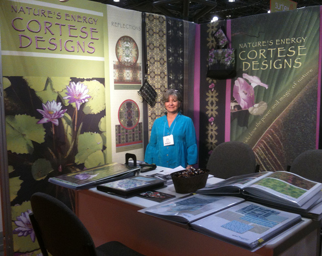 Cortese Designs at 2011 SURTEX Licensing Expo NY