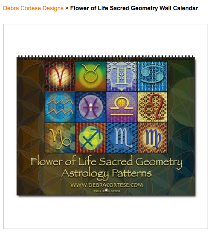 Flower of Life Sacred Geometry Astrology Patterns Calendar