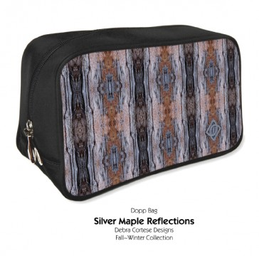 Debra Cortese Designs Silver Maple Dopp Bag