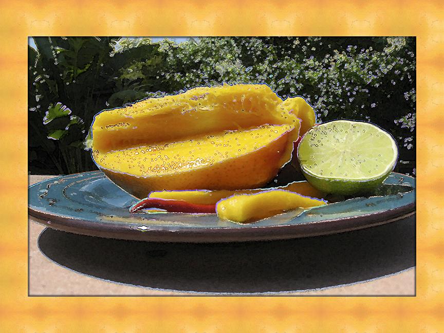 Almost Mango Salsa