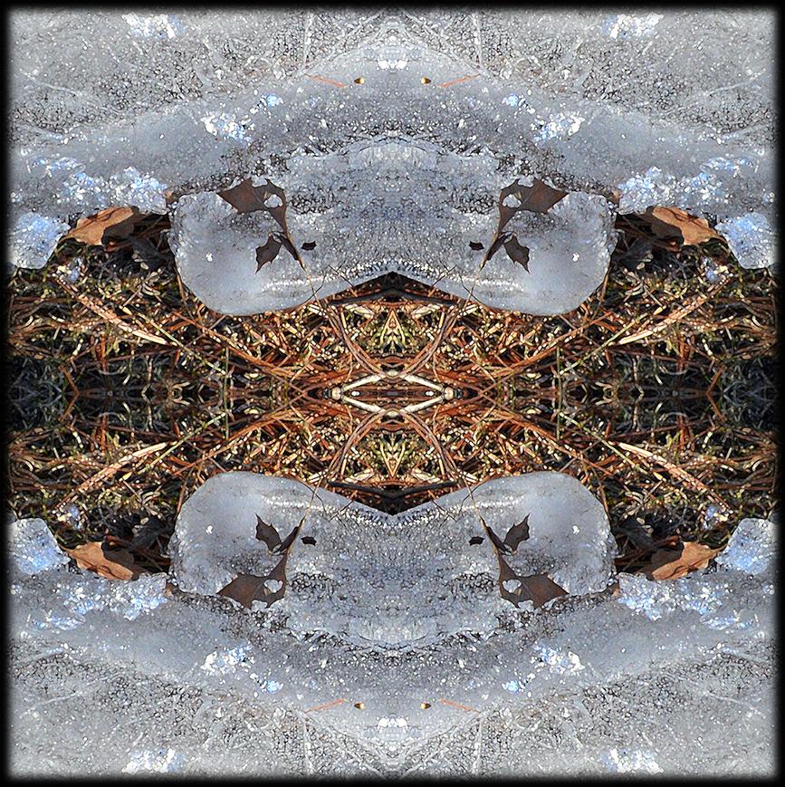 Ice Jewels 03 mixed media by Debra Cortese