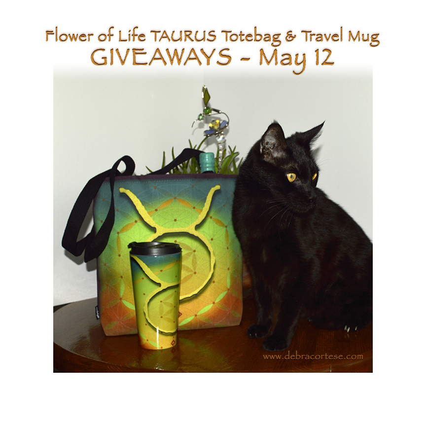 Cat models for Taurus Giveaways by Debra Cortese