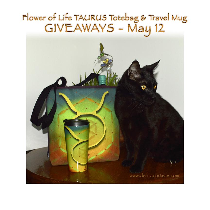 Cat models for Taurus Giveaways by Debra Cortese