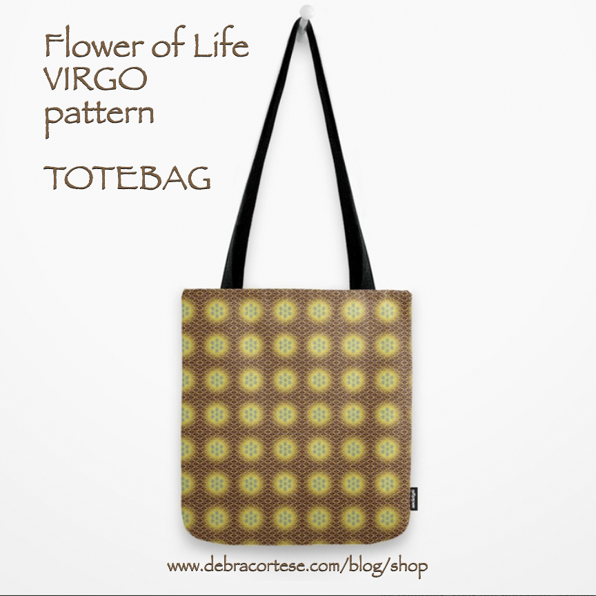 clcik here for details on the VIRGO pattern Tote Bag by Debra Cortese Designs