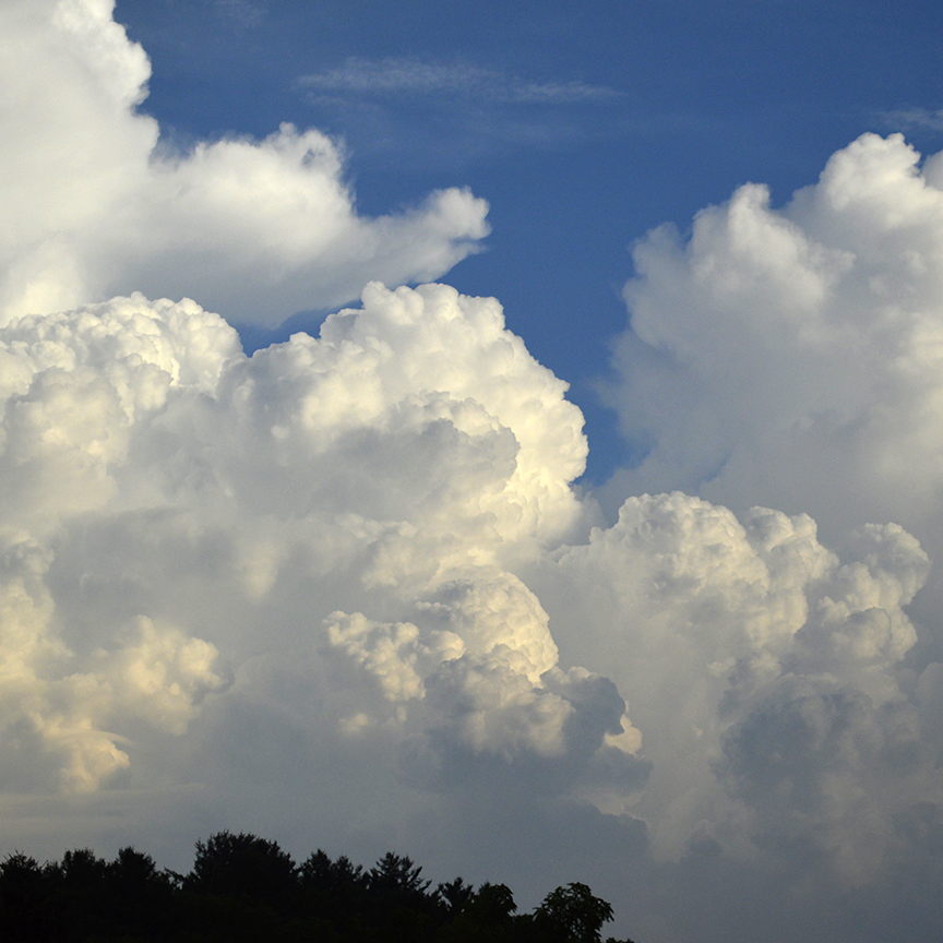 CLICK IMAGE for more info on Billowing White Clouds