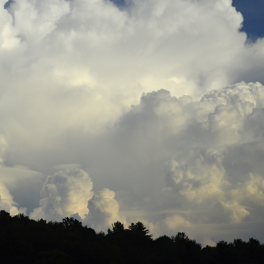 Click IMAGE for details of White Cloudscape nature art by Debra Cortese Designs